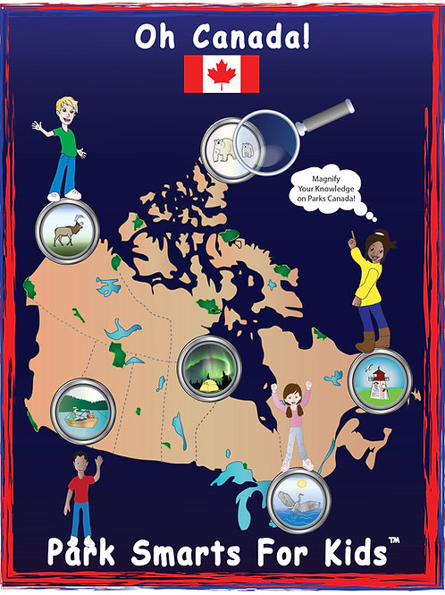 Oh Canada! Park Smarts Activity Paperback Book