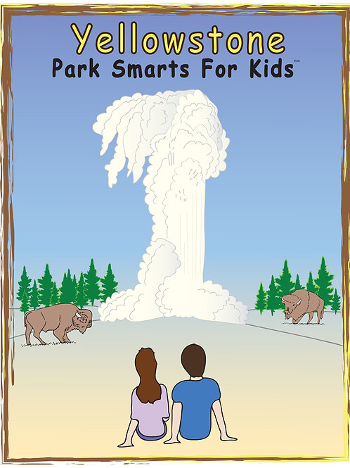 Yellowstone Activity eBook Park Smarts for Kids