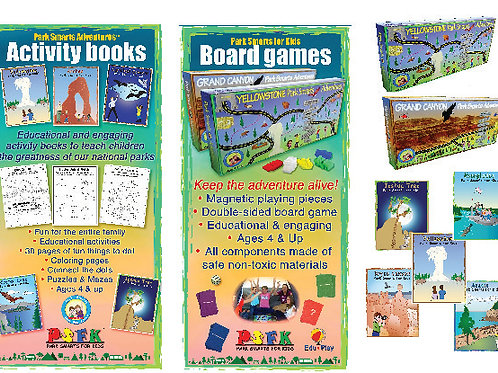 Edu-Play Option 2 Boardgame & Book Tradeshow Kit