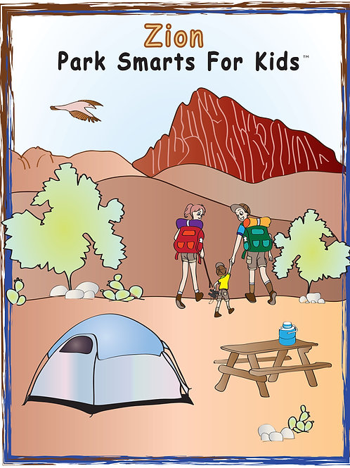 Zion Activity eBook Park Smarts for Kids
