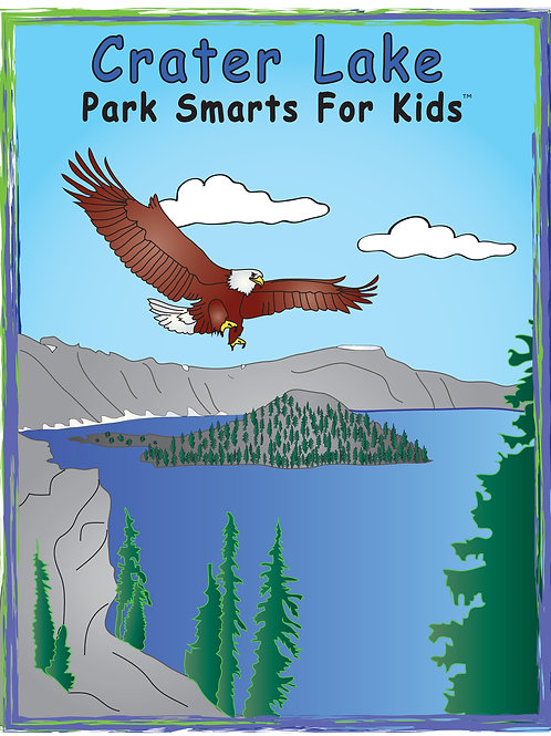Crater Lake Activity eBook Park Smarts for Kids
