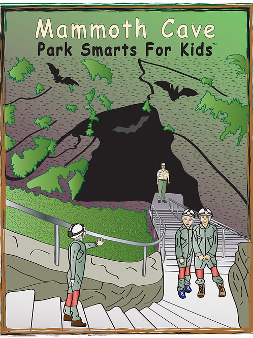 Mammoth Cave Activity eBook Park Smarts for Kids