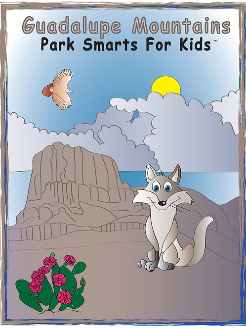 Guadelupe Mountains Activity eBook Park Smarts for Kids