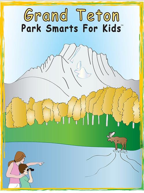 Grand Teton Activity eBook Park Smarts for Kids