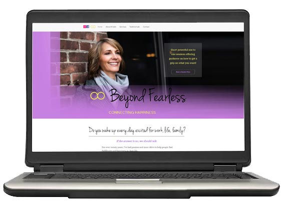 website-design-beyond-fearless-project