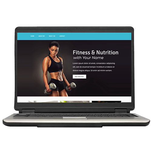 The Muscle Pre-Made Website