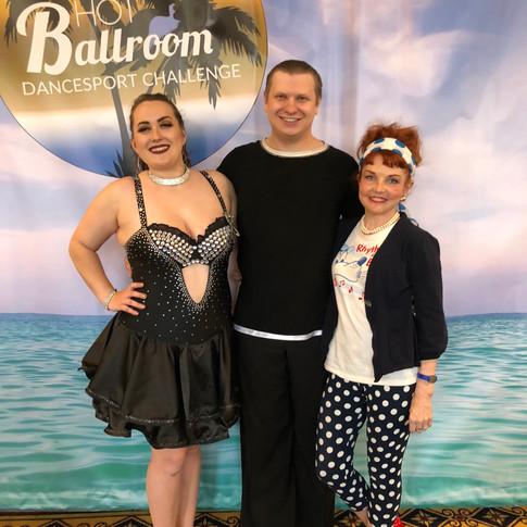 Hot Ballroom Dance Competition