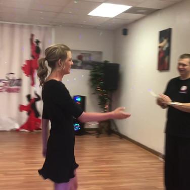Star Dance Team Match with Anna Trebunskaya