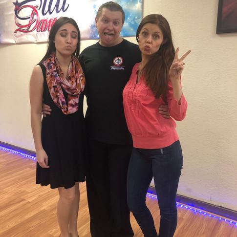 Fun times at the Star Dance Team Match with DWTS Anna Trebunskaya