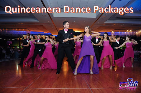 #1 Quinceanea Dances and Court Dances, Affordble, Peronalized, Star Dance