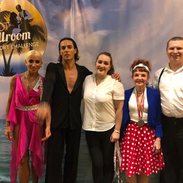 Star Dance Team with World Champions