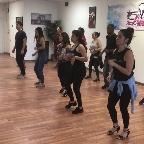 Salsa Guests From Puerto Rico at Star Dance