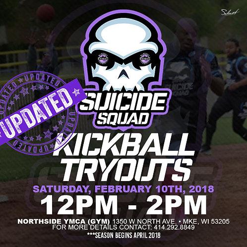 2018 Suicide Squad Kickball Sponsorship (MCKL)