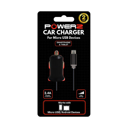 Car Charger for Micro USB Devices