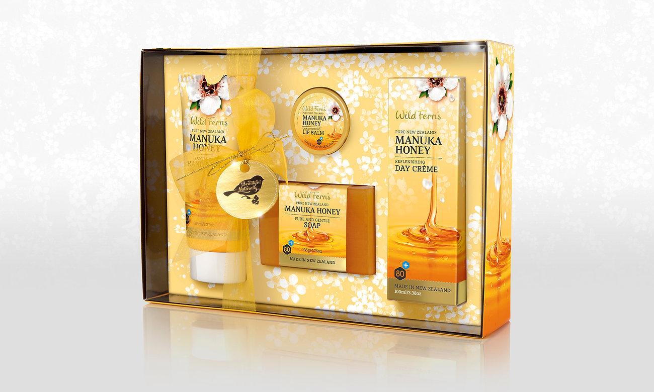 Wild Ferns Manuka Honey Gift Pack