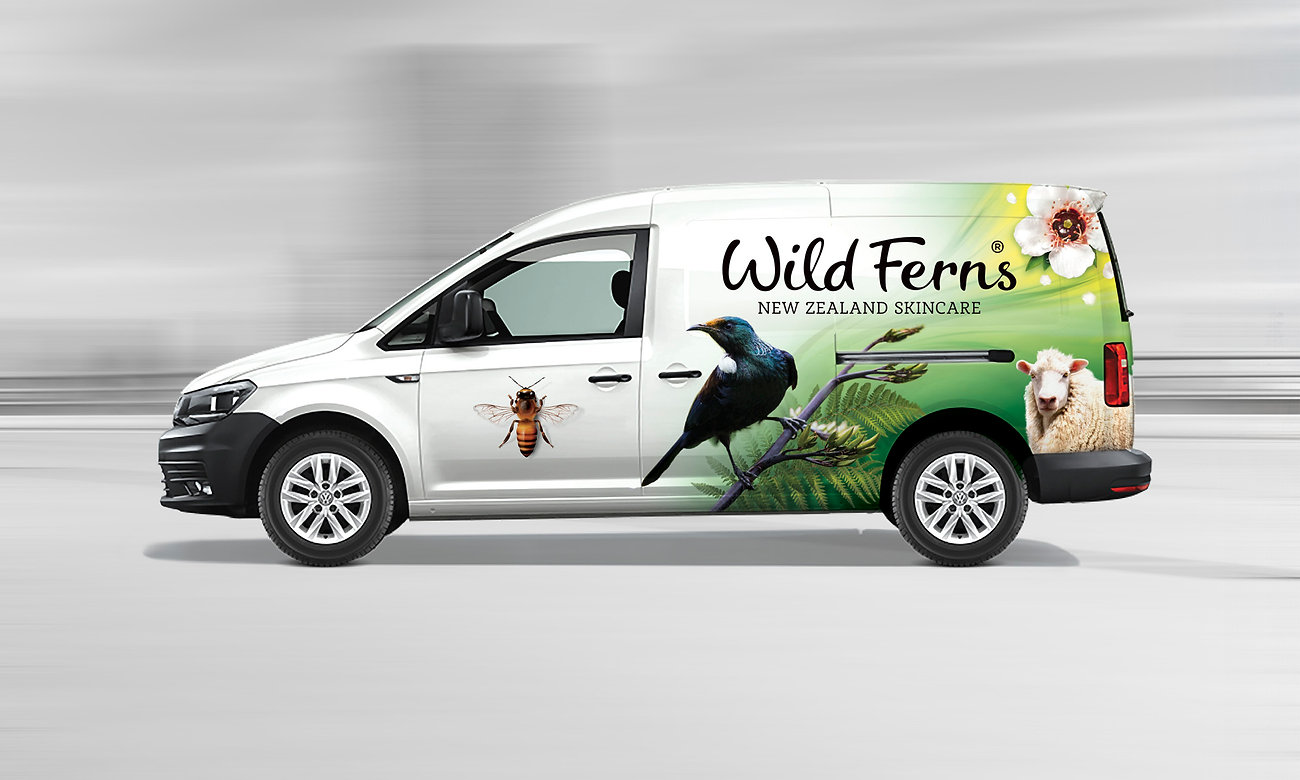 Wild Ferns Delivery Van