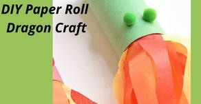 DIY Paper Roll Dragon Craft