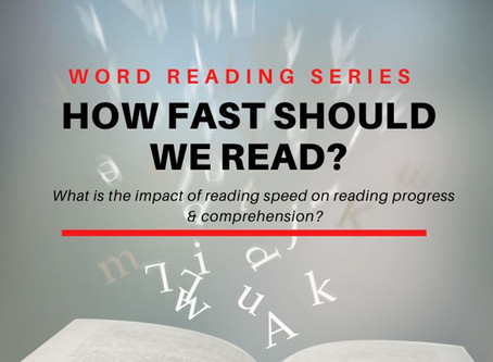 How fast should we read?