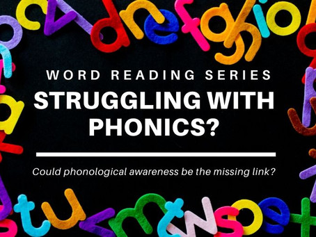 Struggling with phonics?