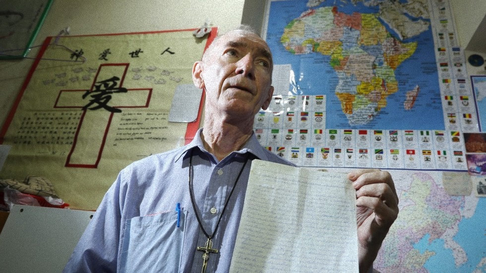 Father John Wotherspoon anti drug-trafficking campaign