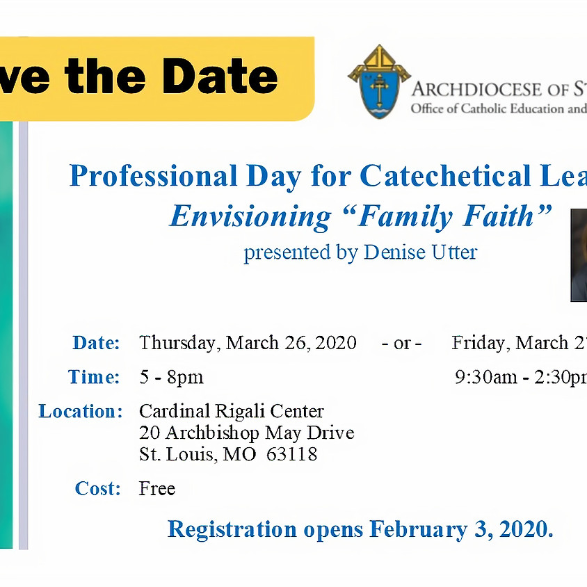 Professional Day for Catechetical Leaders