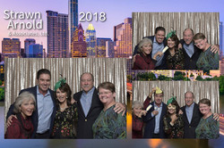 Photobooth - Custom layout for Photobooth at Strawn Arnold's Dinner Party in Austin, TX