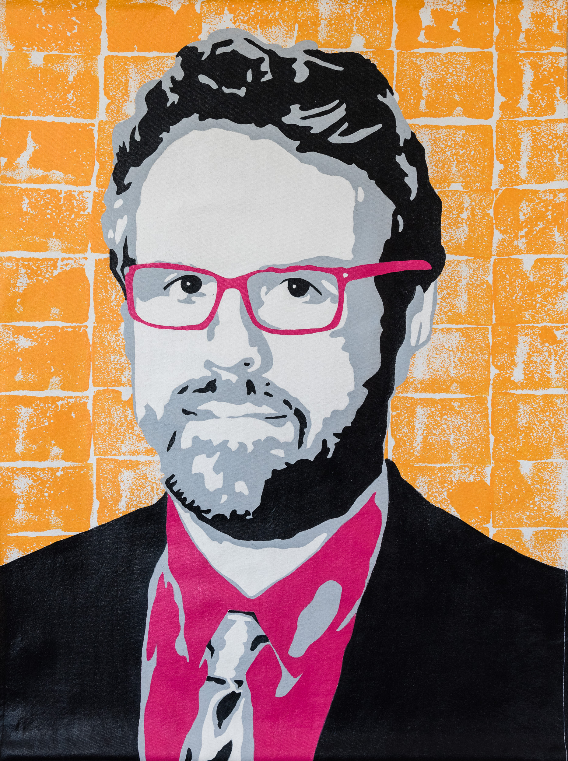 Event Art - Speaker Portrait for Energy Thought Summit in Austin, TX