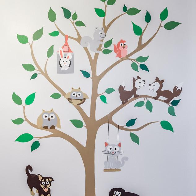 Nursery Tree Mural