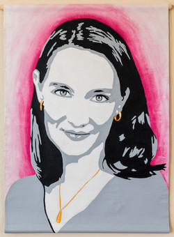 Event Art - Custom portrait for Energy Thought Summit in Austin, TX