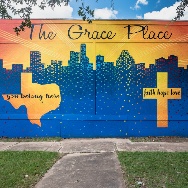 Grace Place Church Mural