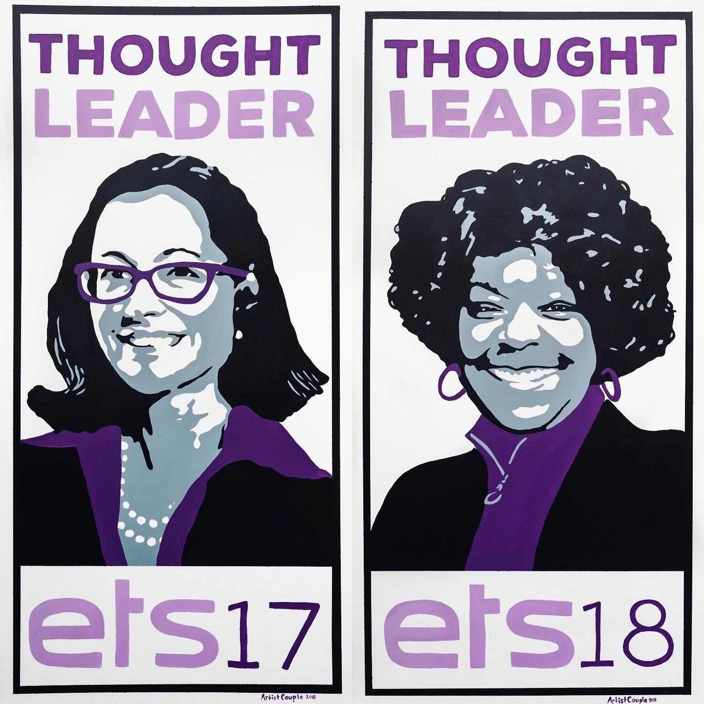 Event Art - Thought Leader Portraits for the Energy Thought Summit in Austin, TX