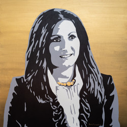 Event Art - Custom portrait for African Trade & Investment Global Summit in Washington DC