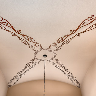 Ornamental Arched Ceiling