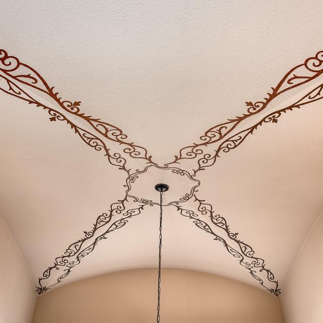 Ornamental Arched Ceiling