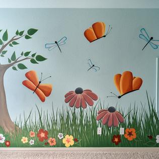 Garden Kid's Room Mural