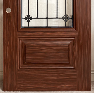Faux Wood Doors