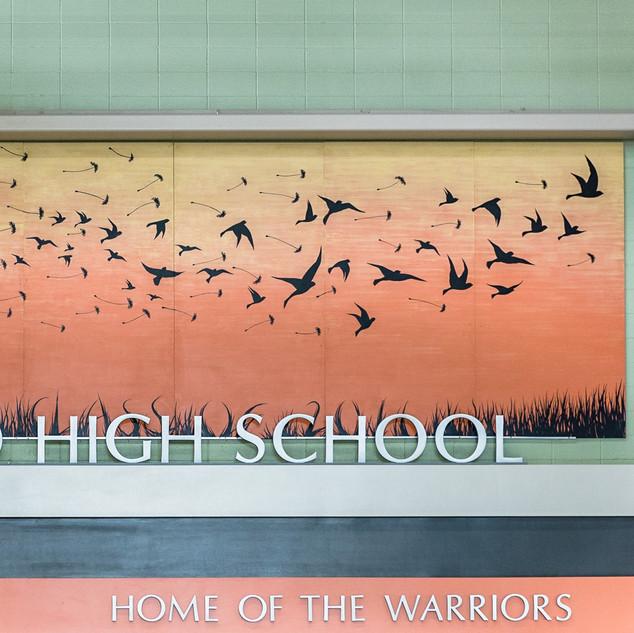 Westwood High School Mural