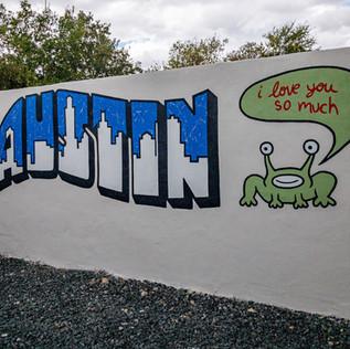 Mural Inspired Austin Mural