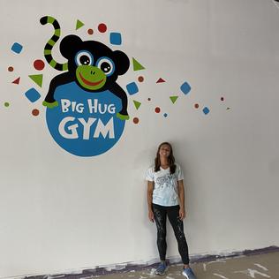 Big Hug Gym Mural