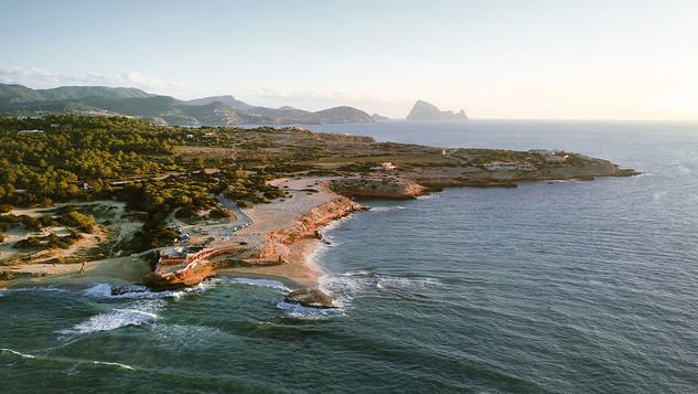 Platges de Comte, Ibiza