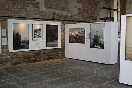 Les tableaux exposés.