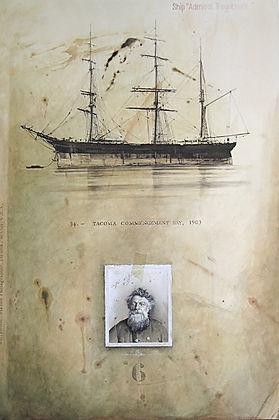 ©RG - Portrait d'homme de mer 120 x 80 c