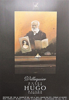 ©RG - Hommage à Victorr Hugo 120 x 80 cm