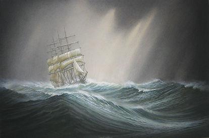 ©RG -Et c'est un chant de mer 80 x 120 c