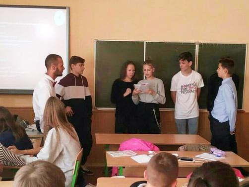 ETF @ Secondary School 35 in Kyiv, Ukraine