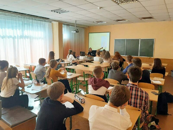 ETF @ Technical Lyceum in Kyiv, Ukraine