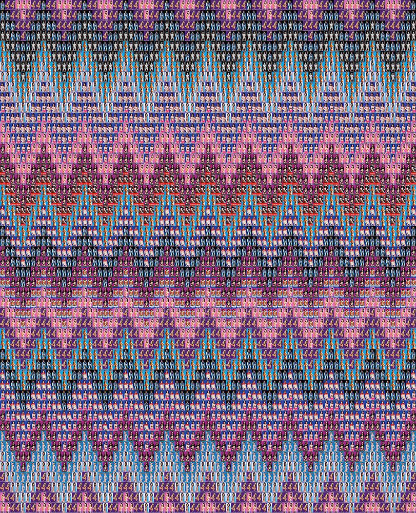 7. 인효진_Hot Punk Project_Colorful Patterns 'Missoni_Pink', 112×90.8cm, Pigment print, 2016.jpg