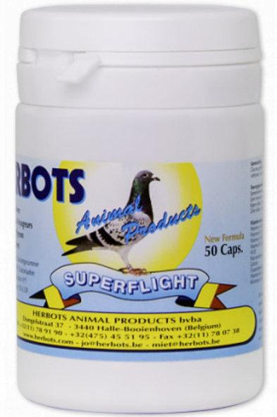 Herbots Super Flight 50 píldoras (recuperador + energético)
