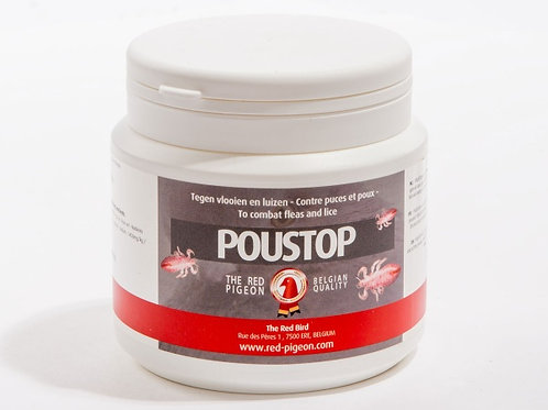 The Red Pigeon Poustop 300 gr, (espectacular producto 100% natural contra parási