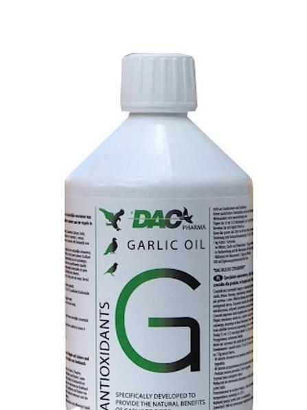 DAC Garlic Oil 500 ml, (aceite de ajo enriquecido)